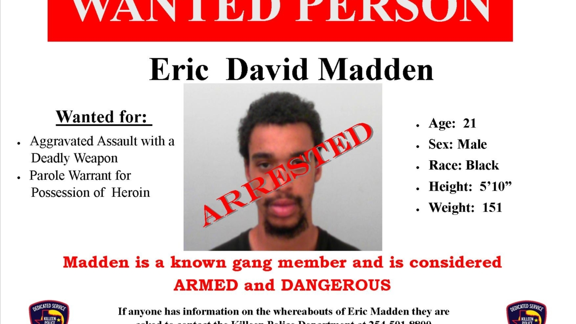 Wanted Man Located and Arrested