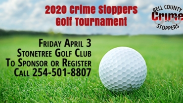 2020 Bell County Crime Stoppers Golf Tournament