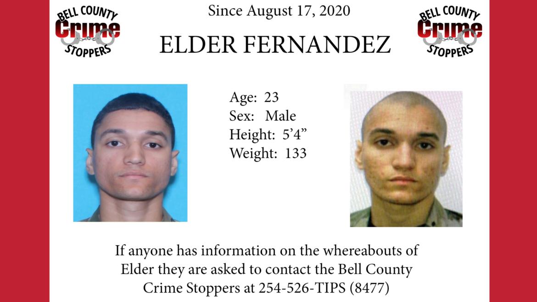 Missing Person – Elder Fernandez