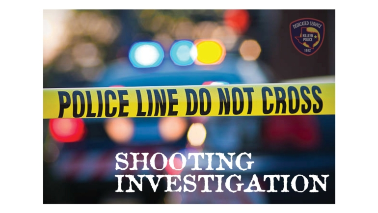Killeen Police Need the Public's Assistance in a Shooting Investigation